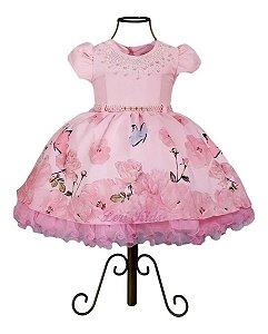 Vestido Infantil Jardim Encantado Bosque Encantado Casamento