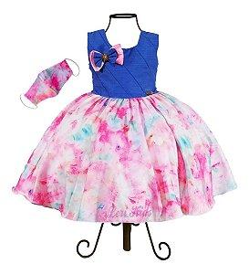Vestido Infantil Tie Day Diva Lançamento Presente Criança