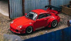 Porsche RWB 993 NAGINATA Riverside - 1:64 - TARMAC WORKS