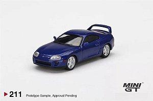 Toyota Supra GT Azul - 1:64 - Mini GT