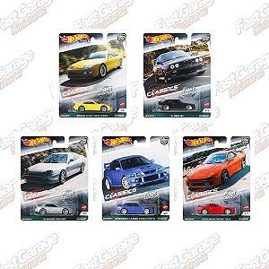 Set Car Culture Modern Classics 2 - 5 carros - 1/64 - Hotwheels