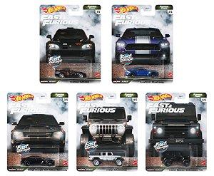 Set Velozes e Furiosos Furious Fleet 5 carros - 1/64 - Hotwheels