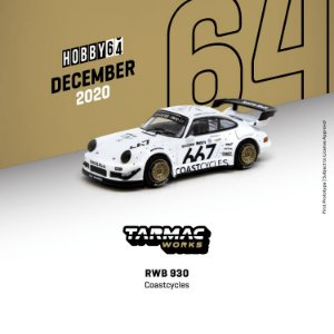 Porsche RWB 930 COASTCYCLES - 1:64 - TARMAC WORKS