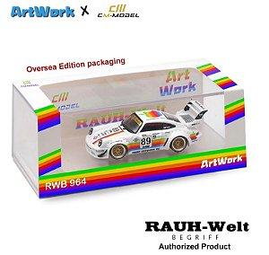 Porsche RWB 930 Apple - 1:64 - CM Model
