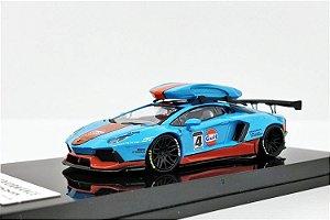 Lamborghini Aventador Gulf - Liberty Walk - 1:64 - JEC