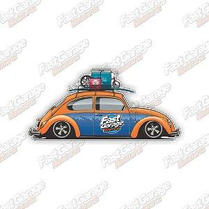 Adesivo Fast Garage modelo 2