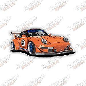Adesivo Fast Garage modelo 3