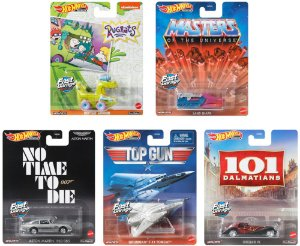SET Retro Entertainment 5 - 5 carros - 1/64 - Hotwheels