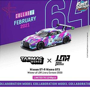Nissan GTR Nismo GT3 winner of LOR livery contest - LIMITADO A 1248 - 1:64 - TARMAC WORKS