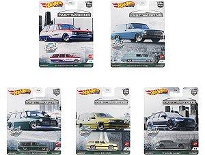 Set Car Culture Fast Wagons 5 carros - 1/64 - Hotwheels