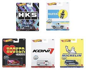 Set Pop Culture Speed Shop Garage 5 carros - 1/64 - Hotwheels
