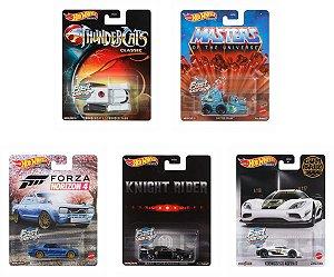 SET Retro Entertainment 6 - 5 carros - 1/64 - Hotwheels