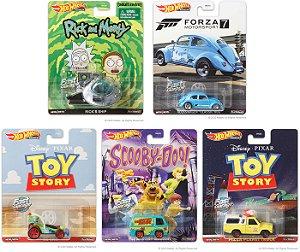 Hot Wheels 2020 Entertainment Mix 3 5 carros - 1/64 - Hotwheels