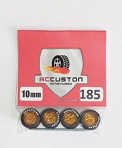 Roda 185/10mm - ACCuston