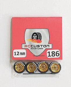 Roda 186/12mm - ACCuston
