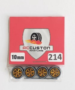 Roda 214/10mm - ACCuston