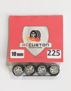 Roda 225/10mm - ACCuston