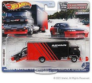 Team Transport Advan Skyline + caminhão 2021