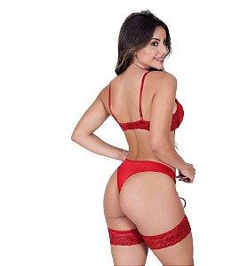 Sexy Espartilho Feminino Completo Com Bojo