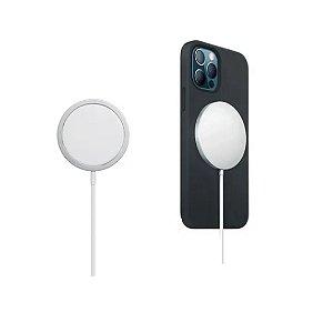 Carregador Magsafe Magnético Sem Fio Turbo 15w iPhone 12 Pro