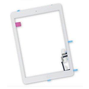 Tela Touch Vidro iPad 5 Air A1474 A1475 A1476 Branco