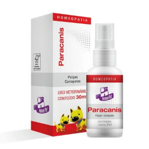 Paracanis 30 ml - Controle de parasitas - Homeopet