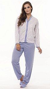 Pijama Longo Malha - 0240