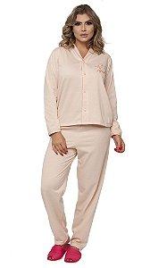 Pijama Longo Aberto - 0161