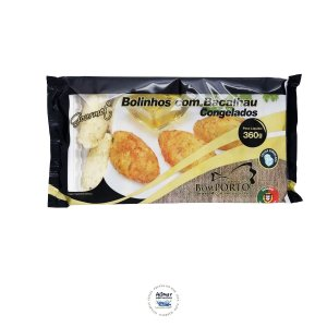 Bolinho com Bacalhau Bom Porto Gourmet  (pc 360g)