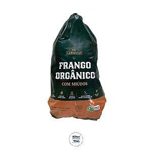 Frango Orgânico Congelado (com Coração, Fígado, Pés e Pescoço) 1,7kg
