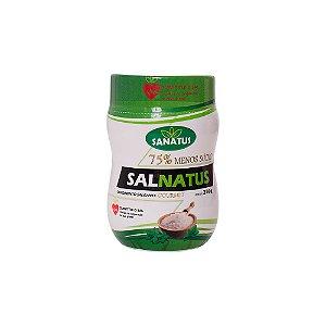 SAL GOURMET 75% MENOS SÓDIO – 250G Com adição de ervas