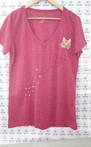T-shirt pegadas