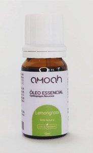 Óleo Essencial de Lemongrass Puro 10ml Amoah