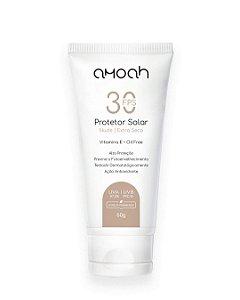 Protetor Solar Facial Extra Seco Nude 60g Amoah
