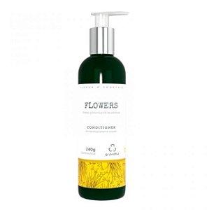 Flowers Conditioner Couro Cabeludo e Cabelos Delicados - 240 g Grandha