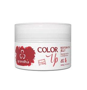 Color Up Restorative Jelly Máscara Protetora e Hidratante 200g Grandha