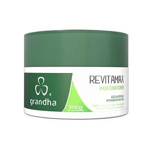 Revitamax Mask Conditioner Nutrição Intensa 200g Grandha