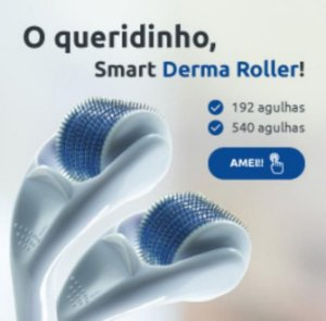 Derma Roller 540 Agulhas 1,0  mm Smart GR