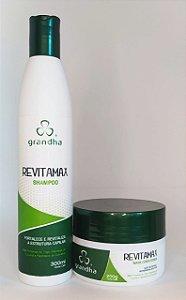 Kit Revitamax Grandha (shampoo e condicionador)