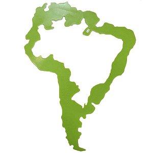 Régua Gabarito de Mapa da América do Sul - unitário - Roge