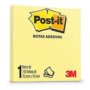 "Bloco Adesivo M ""Post-it"" - 100 folhas - unitário - 3M"