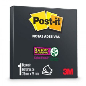 "Bloco Adesivo M ""Post-it"" - 60 folhas - unitário - 3M"