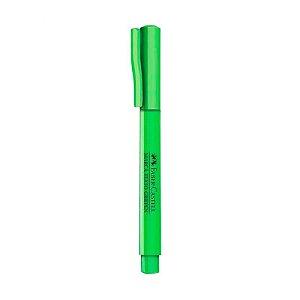 Marca texto Grifpen Neon Verde - unitário - Faber-Castell