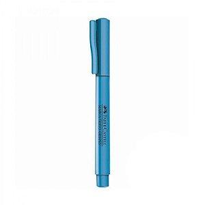 Marca texto Grifpen Neon Azul - unitário - Faber-Castell