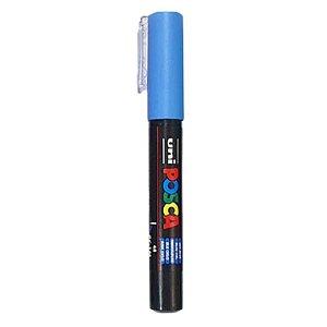 Caneta Uni Posca PC-1M Azul Céu - unitário - Posca