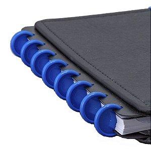 Disco + Elástico Inteligente Médio Azul - unitário - Caderno Inteligente