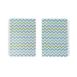 Capa e Contracapa Waves A5 - unitário - Caderno inteligente
