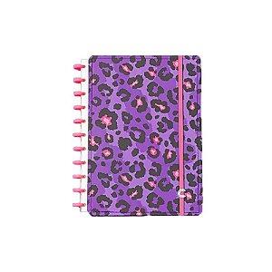 Caderno Lilac Grande - unitário - Caderno Inteligente