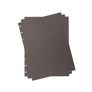Refil p/ CI Médio 10 Folhas Preto - unitário - Caderno Inteligente