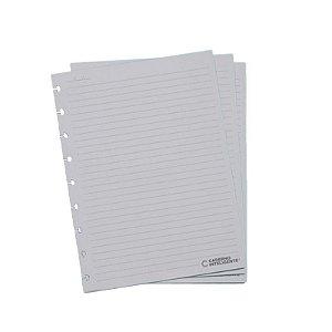 Refil p/ CI Médio 50 Folhas Pautado 90g - unitário - Caderno Inteligente